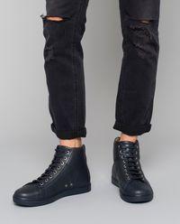 Granatowe sneakersy