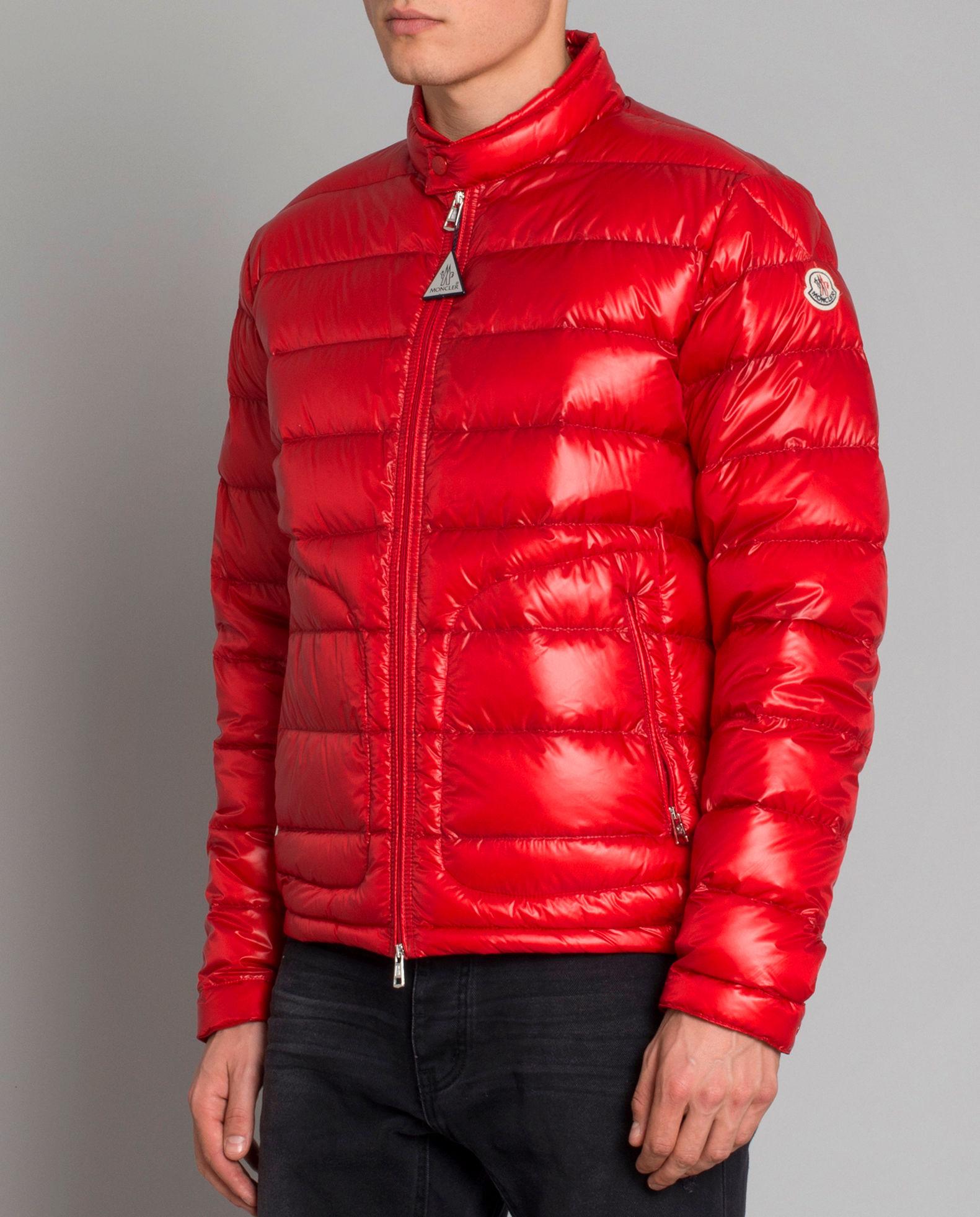 buy online a296e 6bb6d Czerwona kurtka puchowa MONCLER – Kup Teraz! Najlepsze ceny ...