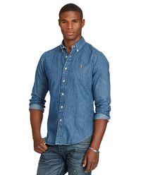 Jeansowa koszula Slim Fit