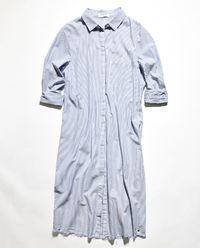 Długa koszula w paski