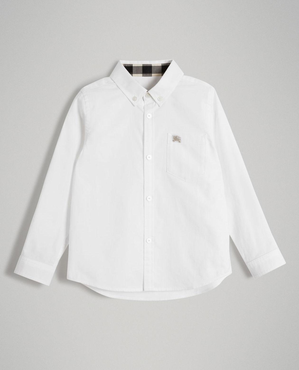 b72a64e6329e2a Biała koszula BURBERRY CHILDREN – Kup Teraz! Najlepsze ceny i opinie ...