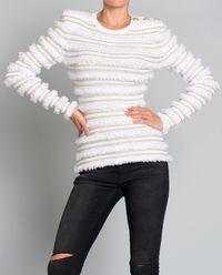Sweter ze złotą nitką