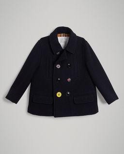Płaszcz z wełny 8 - 14 lat