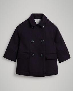 Dwurzędowy płaszcz 8 - 12 lat