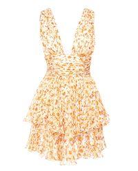 Sukienka Paros z jedwabiu