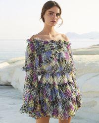 Sukienka Dahlia z jedwabiu