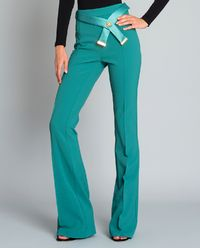 Spodnie z ozdobnym paskiem