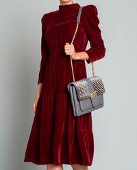 Aksamitna sukienka Imbuto