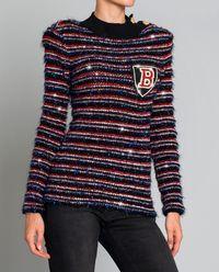 Tweedowy sweter