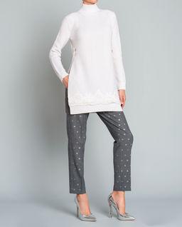 Spodnie z dziewiczej wełny