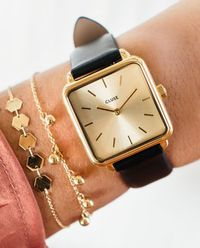 Zegarek La Garconne Gold Gold/Black