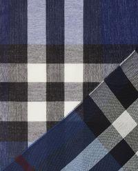 Wełniany szalik w kratę