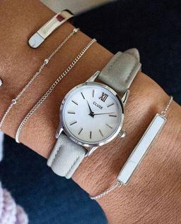 Zegarek La Vedette Silver White/Grey