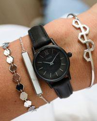 Zegarek La Vedette Full Black