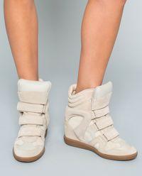 Sneakersy Bekett Ecru