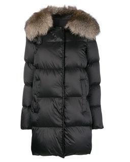 Płaszcz z futrem