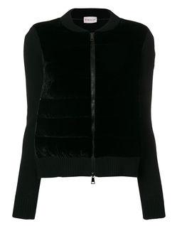 Czarna bluza z domieszką kaszmiru
