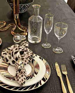 Kieliszek kryształowy do szampana Monogram