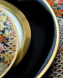 Zestaw sześciu talerzy obiadowych Python