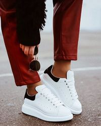 Sneakersy z podeszwą 4.5 cm