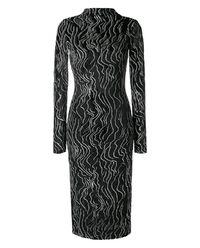 Sukienka z metaliczną nitką