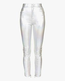 Spodnie z efektem hologramu