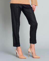 Wełniane spodnie