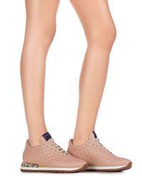 Skórzane sneakersy Claudia