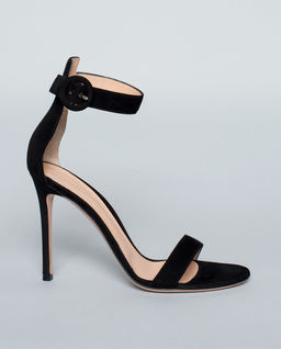 Sandały Portofino z zamszu czarne