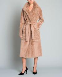 Płaszcz dwustronny z kożuchem