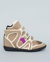 Sneakersy Bramy z ukrytym koturnem 5 cm