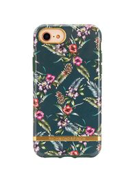 iPhone 6, 6s, 7, 8 Case Emerald Blossom