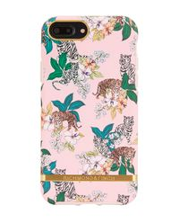 iPhone 6+, 6s+, 7+, 8+ Case Pink Tiger