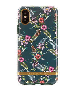 iPhone X Case Emerald Blossom