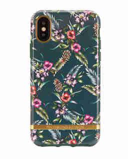 iPhone X Case Emerald Blossom