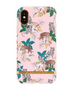 iPhone X Case Pink Tiger