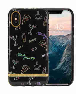 Produkt iPhone X Case Bad Habits