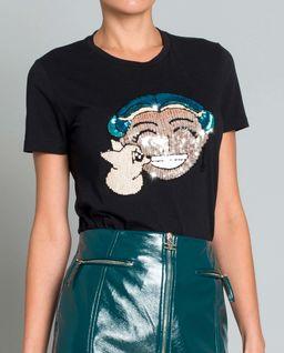 T-shirt z wizerunkiem projektantki