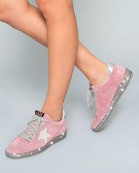 Różowe sneakersy Star