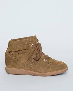 Sneakersy Bobby z ukrytym koturnem 5 cm