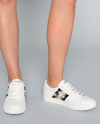 Sneakersy z kryształami Swarovskiego