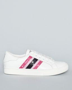 Sneakersy s krytaly Swarovski