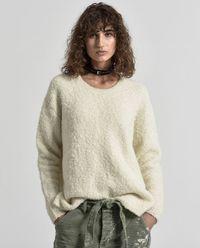 Sweter z wełny alpaki