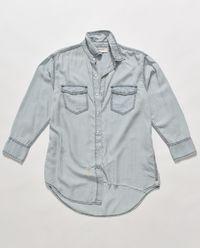 Koszula z jasnego jeansu