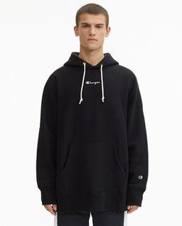 Czarna bluza oversize