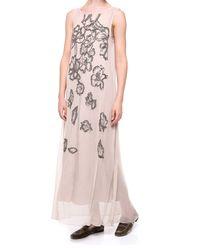 Sukienka z  cekinową aplikacją