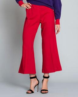 Szerokie spodnie w kant Edmondo