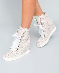 Sneakersy na klínku