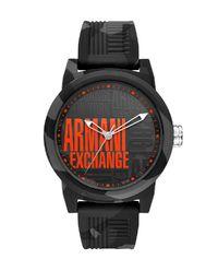 Zegarek Atlc Black/Orange