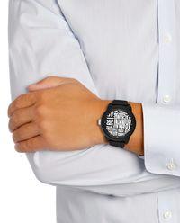Zegarek Atlc Black/White